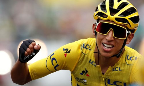 Egan Bernal win the Tour de France